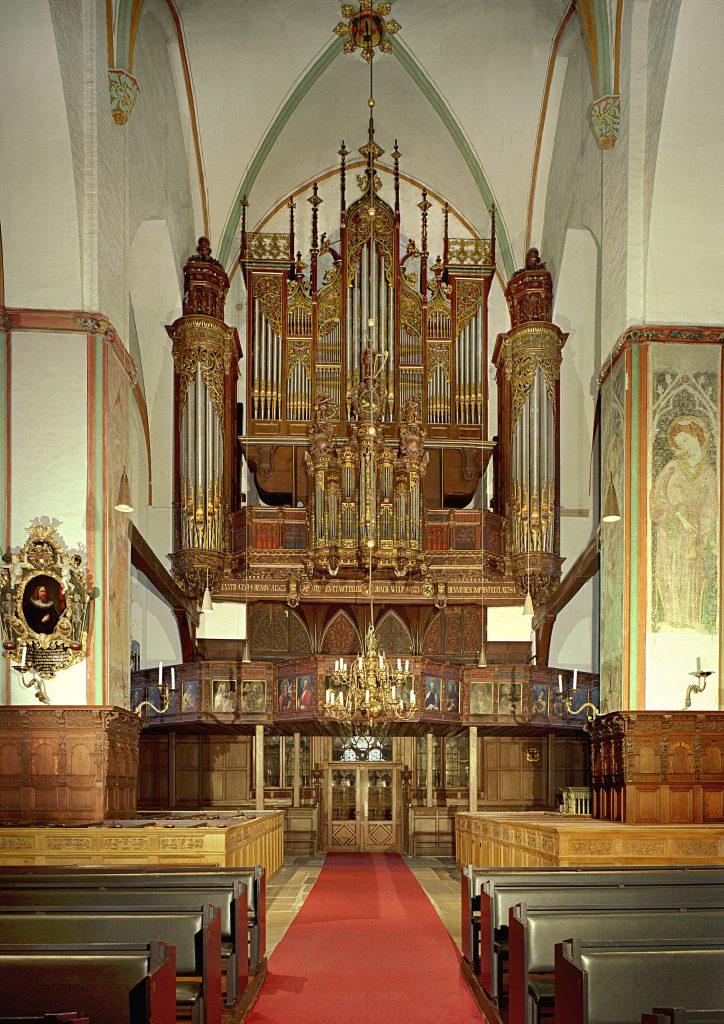 die Orgel in St. Jacobi Lübeck, Deustschland, Restaurierung