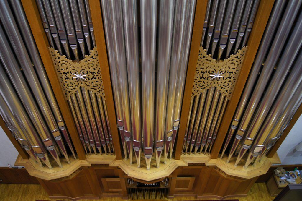 neue Aussichten - andere Perspektiven der Orgel in der Adam´s Chapel der Keimyung Universität in Daegu, Korea