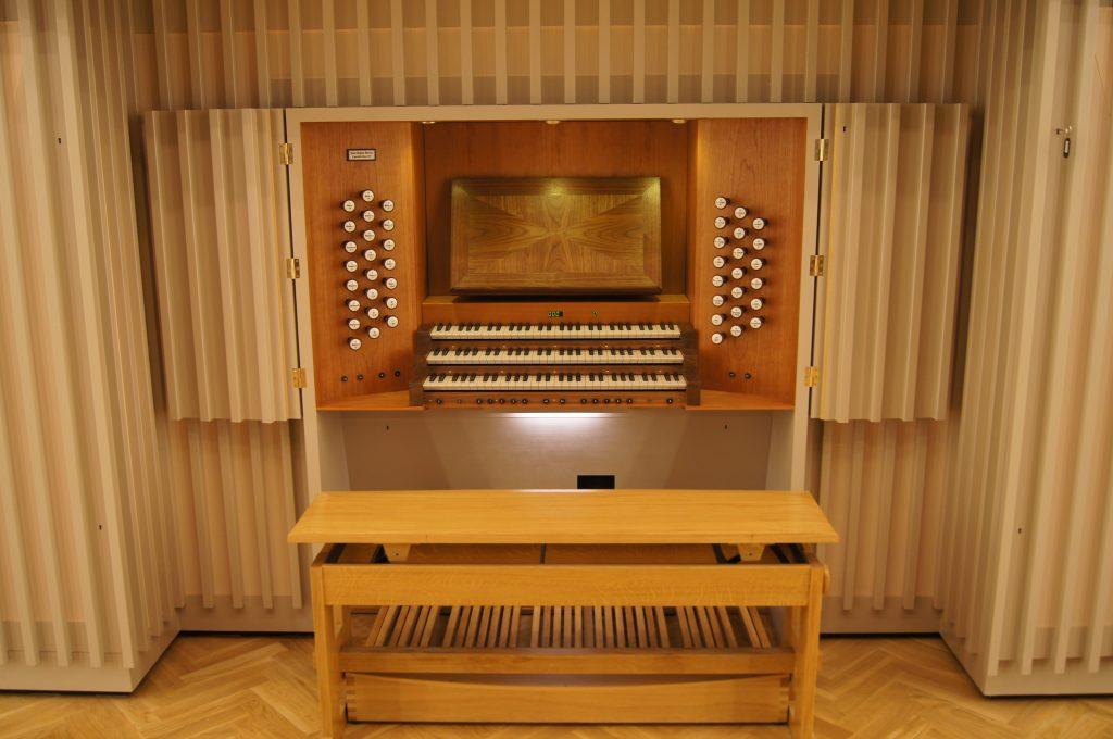 Spieltisch der Philharmonie Katowice, Schlesien, Polen, Filharmonia Slaska