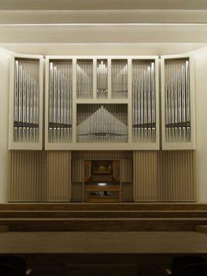 Die neue Orgel für den großen Saal der Philharmonie Katowice, Schlesien, Polen, Filharmonia Slaska