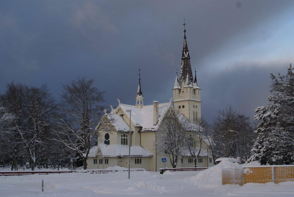 die Kirche in Strinda, Trondheim, Sør-Trøndelag, Norwegen