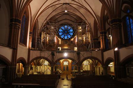 Impressionen in der Paulus Kirchengemeinde in Berlin Zehlendorf, Deutschland