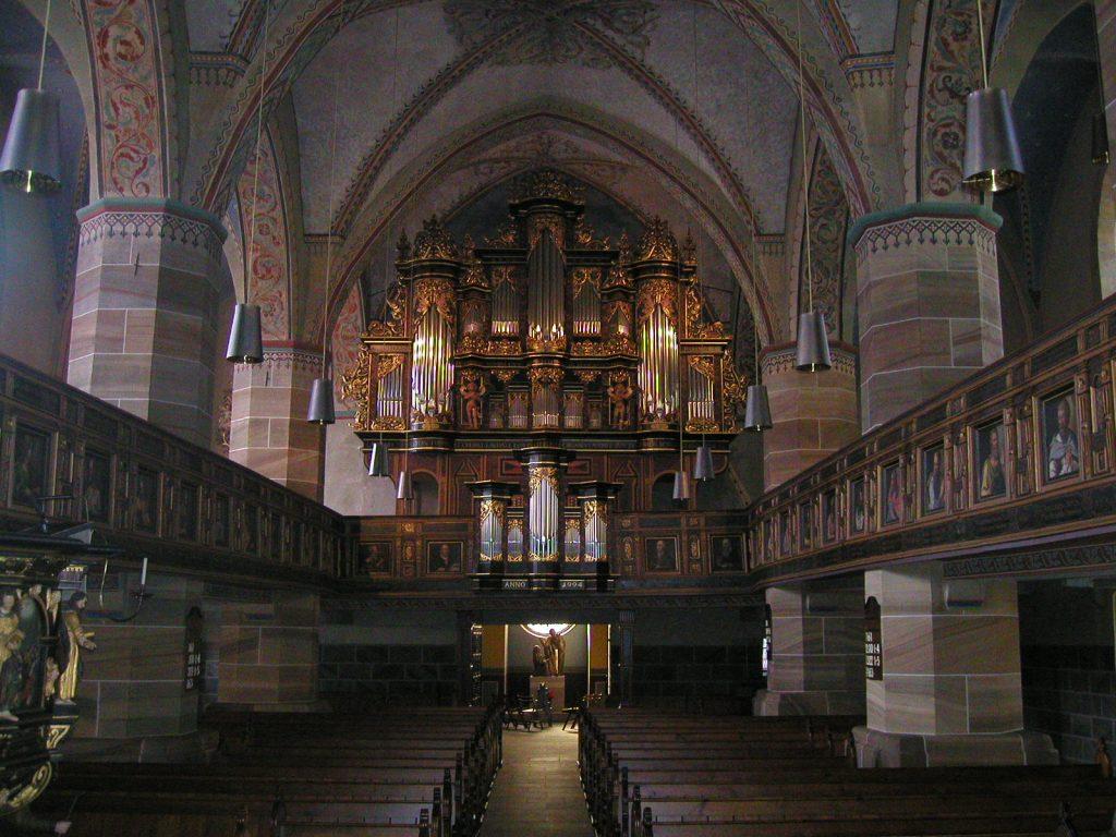 die Orgel in St.Vincenz in Schöningen, Niedersachsen, Deutschland