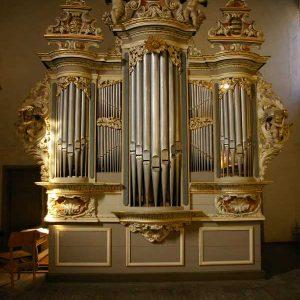 Joachim Wagner Orgel in der Liebfrauenkirche Jüterborg, Brandenburg, Deutschland