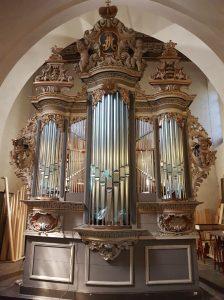 Liebfrauenkirche Jüterbog - Neuer Prospekt