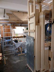 Werkstattmontage Versöhnung - Ansicht hinten