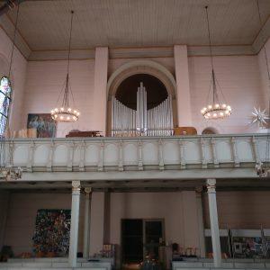Köln Ehrenfeld - Orgelempore und Prospekt