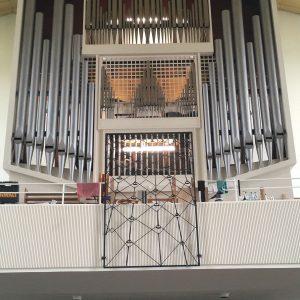Christuskirche Wuppertal: Prospektansicht