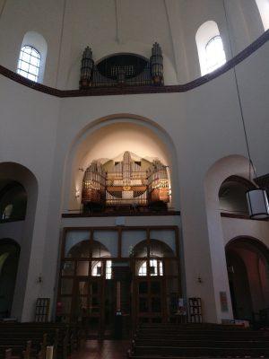 Die Feith-Orgel der Kirche St. Marien in Berlin