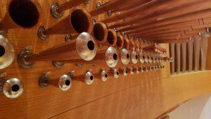 spanische Trompete 4´ und das Trompetenregal 8´