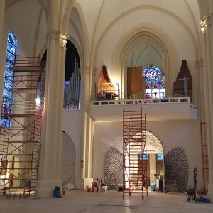 St. Matthias, Berlin: Blick auf die Orgel