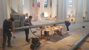 St. Matthias, Berlin: Reinigung und Überarbeitung einer Prospektpfeife