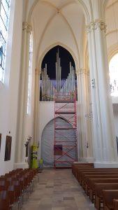 St. Matthias, Berlin: der Prospekt der Ostseite