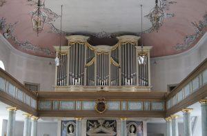 die Orgel der Schlosskirche Bayreuth
