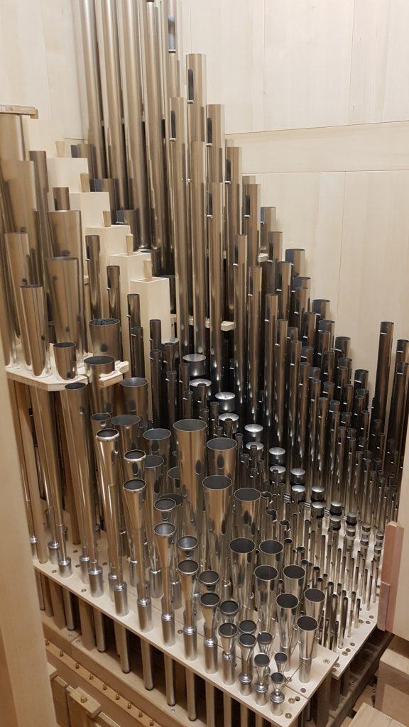 Blick ins Schwellwerk, Sungeun Holy Grace Church , Südkorea, Seoul